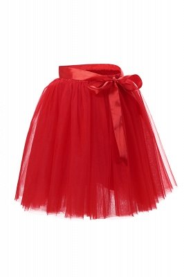 Amazing Tulle Short Mini Ball-Gown Skirts | Elastic Women's Skirts_4