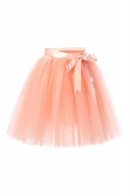 Amazing Tulle Short Mini Ball-Gown Skirts | Elastic Women's Skirts_8