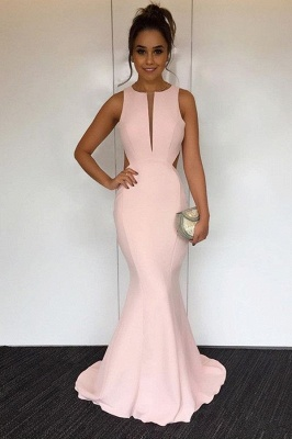 Newest V-neck Sleeveless Mermaid Prom Dress | Cheap Prom Dress_2