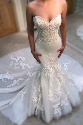 Modest Sweetheart Mermaid Wedding Dresses | Bridal Dress_2
