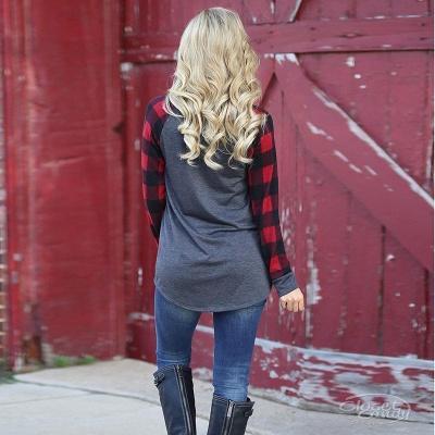Karussell-Langarm-Sweatshirt mit Karussell für Frauen_4