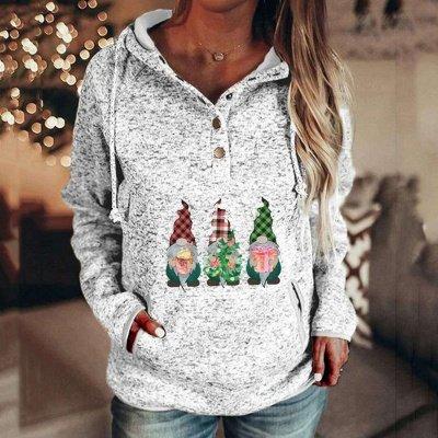 Christmas villain Hoodies for Women Casual Sweatshirts Long Sleeve_5