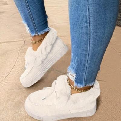 Lässige Falt Sandalen für Damen Winterkleidung_1