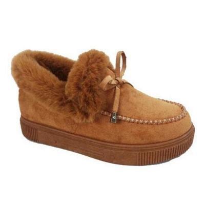 Lässige Falt Sandalen für Damen Winterkleidung_16