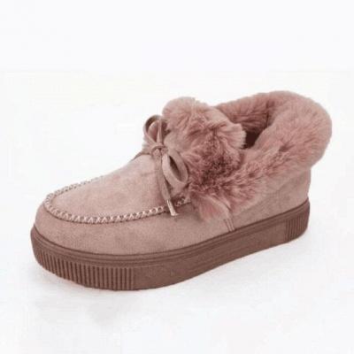Lässige Falt Sandalen für Damen Winterkleidung_3