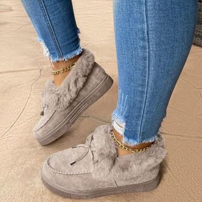 Lässige Falt Sandalen für Damen Winterkleidung_6