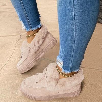Casual Falt Sandals for Women Winter Wear_13