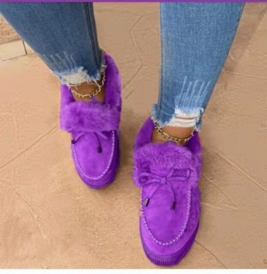 Casual Falt Sandals for Women Winter Wear_7