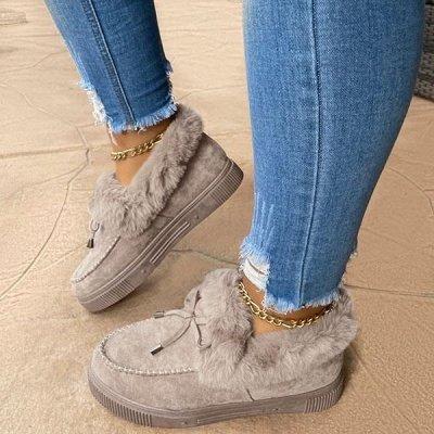 Casual Falt Sandals for Women Winter Wear_6
