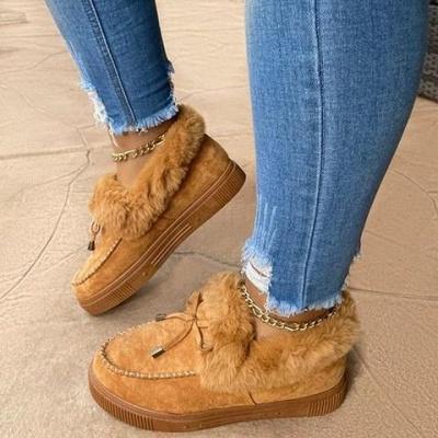 Casual Falt Sandals for Women Winter Wear_8