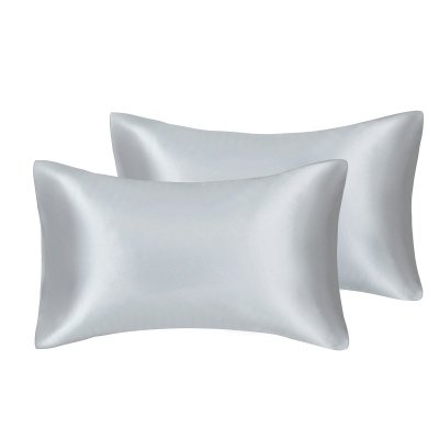 Satin Pillowcase 2 Pack for Hair and Skin Silk Pillowcase-Slip Cooling Satin Pillow Covers with Envelope Closure_16