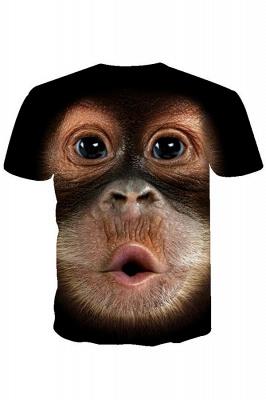 Men's Big Face Baby Orangutan T-Shirt_6