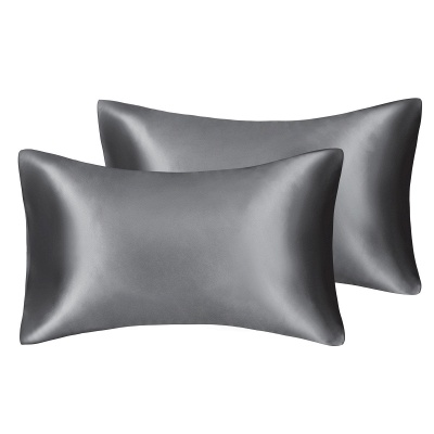 Satin Pillowcase 2 Pack for Hair and Skin Silk Pillowcase-Slip Cooling Satin Pillow Covers with Envelope Closure_38