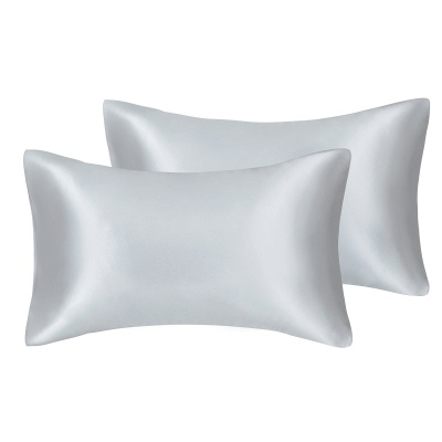 Satin Pillowcase 2 Pack for Hair and Skin Silk Pillowcase-Slip Cooling Satin Pillow Covers with Envelope Closure_42