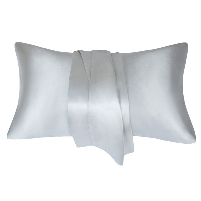Satin Pillowcase 2 Pack for Hair and Skin Silk Pillowcase-Slip Cooling Satin Pillow Covers with Envelope Closure_43