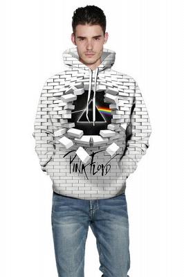 Unisex Realistic 3D Printed Stylish Sweatshirt Hoodies