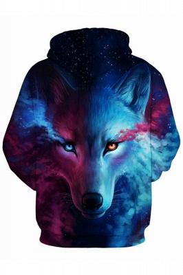 Unisex Realistic 3D Printed Stylish Teens Sweatshirt Hoodie for Men Women_2