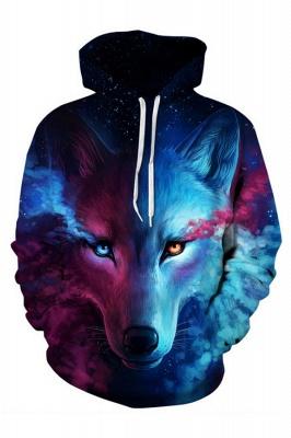 Unisex Realistic 3D Printed Stylish Teens Sweatshirt Hoodie for Men Women_3