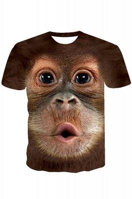 Herren Big Face Baby Orang-Utan T-Shirt_2