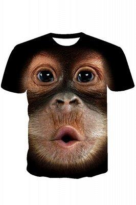 T-shirt Big Face Baby Orangutan pour homme_1