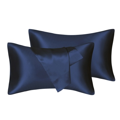 Satin Pillowcase 2 Pack for Hair and Skin Silk Pillowcase-Slip Cooling Satin Pillow Covers with Envelope Closure_8