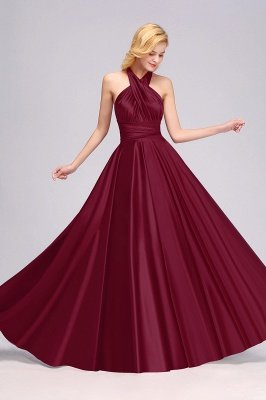 Convertible Dress  Bridesmaid Dress Multi-way Twist Wrap Dress_13