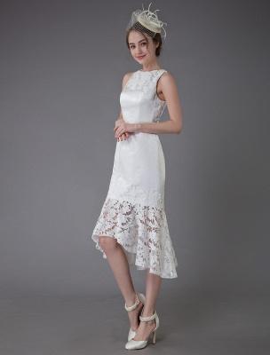 Kurzes Brautkleid Vintage Jewel Ärmelloses Etui-Brautkleid Exklusiv_6