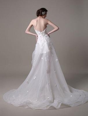 Exklusives Vintage Brautkleid mit Meerjungfrau-Spitze und Hofschleppe_7