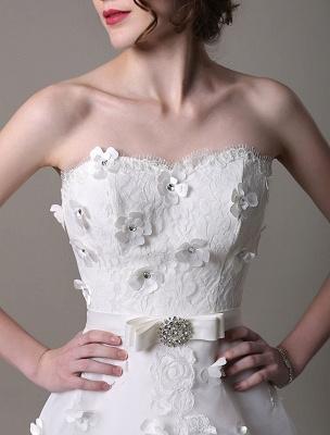 Exklusives Vintage Brautkleid mit Meerjungfrau-Spitze und Hofschleppe_9