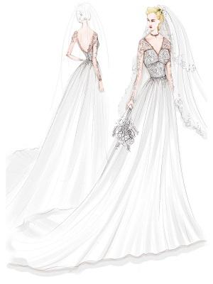 Spitze Brautkleider 2021 Chiffon V-Ausschnitt A-Linie Langarm Spitze Applique Strandhochzeit Brautkleid mit Zug Freie Anpassung_9