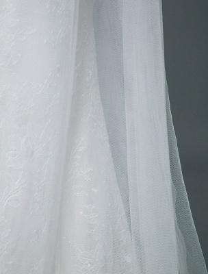 Robe de mariée de plage une ligne sans manches col en V haute Split longueur de plancher dos nu robe de mariée sexy_7