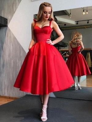 Vintage Brautkleid 1950er Jahre Rote Brautkleider Träger Plissee Brautkleider_1