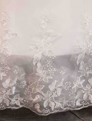 Spitze Brautkleider Elfenbein Schulterfrei Spitze Applique Prinzessin Brautkleid_8