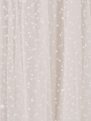 Weißes kurzes Brautkleid T-Länge A-Linie Schatz-Perlen Spaghetti-Trägern Tee-Länge Kleid_5