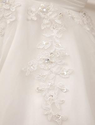 Kurze Brautkleider Vintage 1950er Brautkleid rückenfrei Spitze Perlen Plissee Pailletten Illusion Hochzeitsempfang Kleid mit exklusiven_10