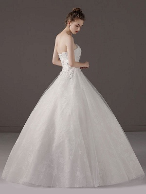Princess-Ball-Gown-Wedding-Dresses-Strapless-Lace-Applique-Beaded-Ivory-Maxi-Bridal-Dress_5