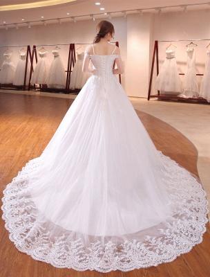Prinzessin-Hochzeit-Kleider-Off-The-Shoulder-Brautkleid-Träger-Spitze-Applikation-Perlen-Brautkleid-Mit-Langen-Zug_4