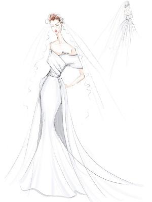Weißes Vintage Brautkleid mit Zug Satin Schulterfrei Brautkleid Plissee Meerjungfrau Brautkleider_4