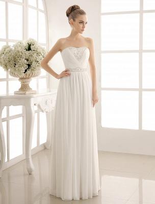 Strapless Tiered Wedding Dress In Floor-Length_2