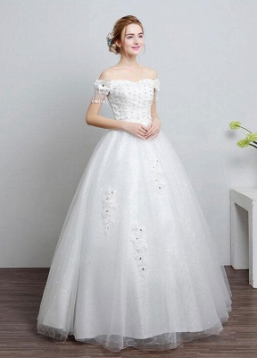 Ivory-Wedding-Dress-Off-The-Shoulder-Lace-Ball-Gown-Beaded-Floor-Length-Bridal-Dress-With-Rhinestone_3