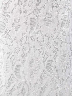 Meerjungfrau Brautkleid Weiß Spitze Fit And Flare Brautkleid Schatz Trägerlosen Zug Fischschwanz Brautkleid Mit Abnehmbarer Strass Schärpe_12