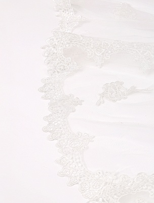 Vintage Inspired Off The Shoulder Mermaid Lace Wedding Dress Exclusive_8