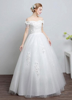 Ivory-Wedding-Dress-Off-The-Shoulder-Lace-Ball-Gown-Beaded-Floor-Length-Bridal-Dress-With-Rhinestone_2