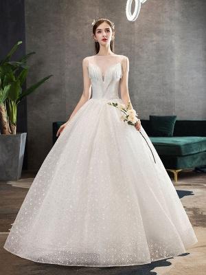 Princess-Wedding-Dresses-Ivory-Illusion-Neck-Beaded-Sleeveless-Floor-Length-Bridal-Gown_1