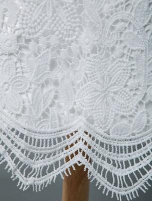 Einfache Brautkleider V-Ausschnitt Kurze Ärmel Mantel Knielang Vintage Brautkleider Exklusiv_8