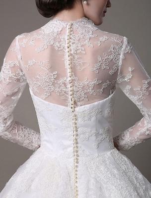 Kate Middleton Royal Wedding Dress Vintage Lace mit V-Ausschnitt und langen Ärmeln Exklusiv_4
