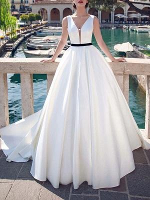 Vintage-Wedding-Dresses-V-Neck-Sleeveless-Sash-Satin-Fabric-Floor-Length-Princess-Silhouette-Bridal-Dress_1