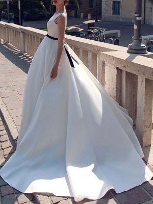 Vintage-Wedding-Dresses-V-Neck-Sleeveless-Sash-Satin-Fabric-Floor-Length-Princess-Silhouette-Bridal-Dress_2
