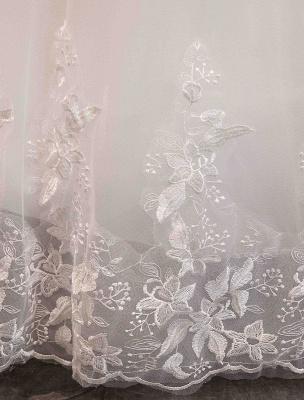 Tüll Brautkleider Prinzessin Brautkleid Schulterfrei Spitze Applique Bodenlangen Ballkleid Brautkleid_13