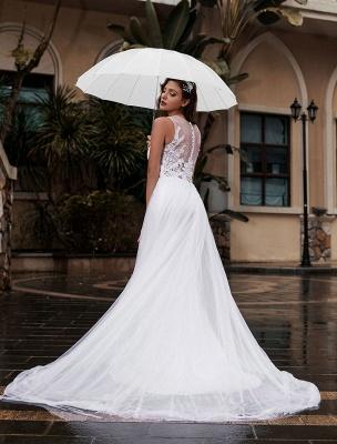 Anpassen-Hochzeitskleid-Spitze-Tüll-A-Linie-Juwel-Ausschnitt-Ärmellos-Natürliche-Taille-Mit-Zug-Brautkleider_2